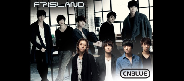 FT Island and CNBlue Concert